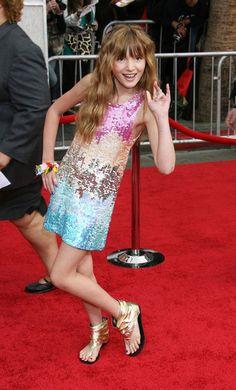 bella thorne hannah motana the movie prem photos | ... Red Carpet For The Hannah Montana The Movie Premiere (Bella Thorne