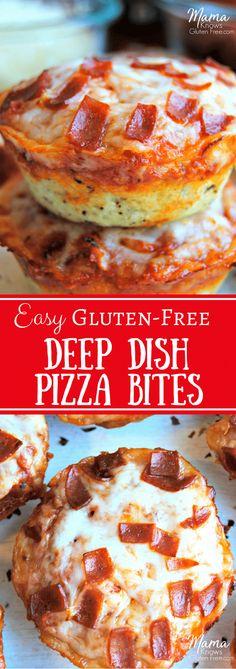 Gluten-Free Pizza Bites | www.mamaknowsglutenfree.com