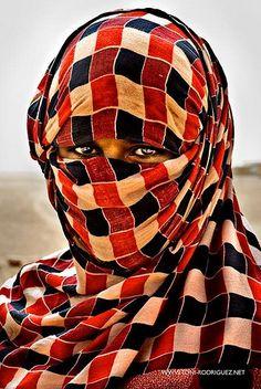 algeria, Saharawi refugee camps - Tindouf, Algeria. Saharawi Women outside the Smara camp