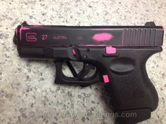 Cerakote Coatings: H-141 Prison Pink with H-146 Graphite Black