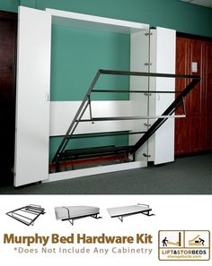 Probably best option for FROG. This Murphy wallbed hardware kit by Lift & Stor Beds can be used with all sizes - King, Queen, double and single beds. Order yours online today!