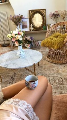 photo by Jeanne Damas My Living Room, My Room, Living Spaces, Room Inspiration, Interior Inspiration, Interiores Shabby Chic, Interior Decorating, Interior Design, Interior Exterior