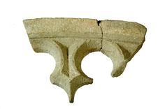 Fragment maswerku okiennego, 2 poł. XIV w. Wymiary: 75x34x17 cm. Detal pochodzący z Katedry gnieźnieńskiej p.w. Wniebowzięcia NMP.