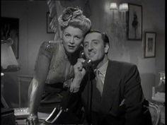Hedy Lamarr and Basil Rathbone - Crossroads - 1942