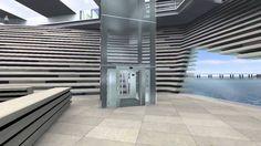 V&A Dundee, virtual fly-through video