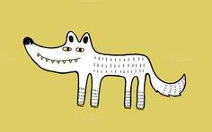 Wolf illustration ~ Illustrations on Creative Market