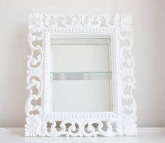 Vintage Syroco Mirror Shelf