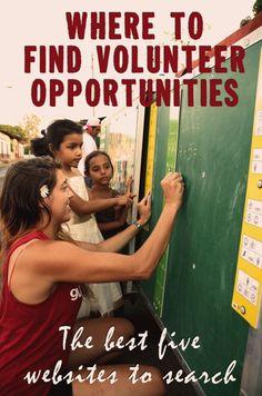 Where to Find volunteer opportunities| Best Website for volunteering | http://olgatribe.com #volunteering