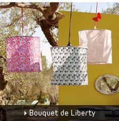 Un bouquet de Liberty pour la chambre des filles