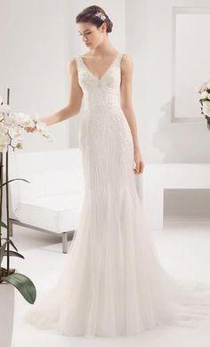 Alma Novia Paisaje: buy this dress for a fraction of the salon price on PreOwnedWeddingDresses.com