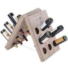 Botellero de Madera para Vino
