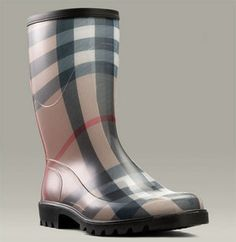 images of raimboots   Burberry Nova Check Rain Boots - Celebrities who wear, use, or own ...