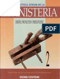 Gabinete de herramientas de construcción de Muebles Madera de ebanistería de trabajo 38 libros antiguos Pdf