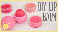 DIY   5 Minute Lip Balm ----> so going to try this out! :D