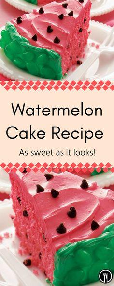 #watermelon #cake