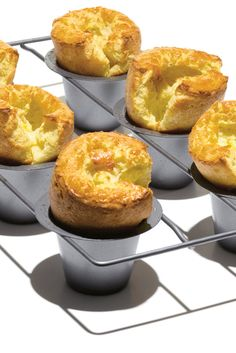 NYT Cooking: The popover is a culinary marvel, a loose batter that, with the aid of a hot oven, expands like a golden cumulus cloud, producing a crisp, hollow pastry with a soft, eggy interior. While the mixture is very similar to crepe batter, when you confine it to deep, narrow, muffinlike molds, the surface of the batter sets and the air is trapped, so that the pastry has%...