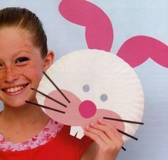 Easter bunny mask  sc 1 st  Pinterest & Easter Crafts Food and Fun | Funny bunnies Easter and Bunny