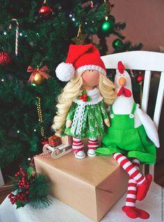"""Куклы тыквоголовки ручной работы. Ярмарка Мастеров - ручная работа. Купить Интерьерная кукла """"Гномочка"""". Handmade. Комбинированный"""