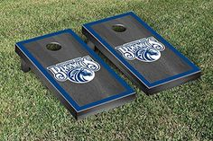 Fayetteville State FSU Broncos Cornhole Game Set Onyx Stained Border Version >>> You can find more details by visiting the image link.