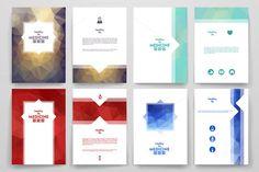 Set of Medicine brochures by Palau on Creative Market