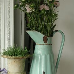 Coffee pot ☕️ or flower pot