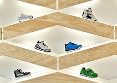 Suppakids sneaker store by ROK, Stuttgart   Germany shoes kids store design
