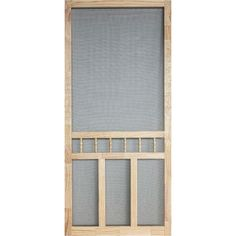 Use screen door to create screened porch??                                            36 in. x 80 in. Wood Classic Screen Door-WCLA36 - The Home Depot