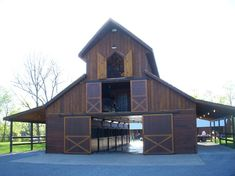 This site has awesome barn plans....one day i'll have one to start a horse rescue :)