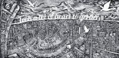 Illustration: Landscapes & Cityscapes on Behance