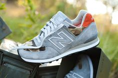 "NEW BALANCE 574 x BALL AND BUCK – ""Camo"""