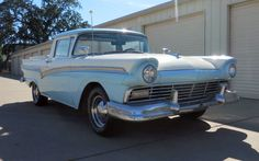 T-Bird Power: 1957 Ford Ranchero - http://barnfinds.com/t-bird-power-1957-ford-ranchero/