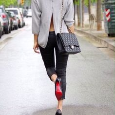 Clothes outfit for woman * teens * dates * stylish * casual * fall * spring * winter * classic * casual * fun * cute* sparkle * summer *Candice Wicks Estilo Fashion, Grey Fashion, Love Fashion, Womens Fashion, Fashion Trends, Street Fashion, Fashion Wear, Fashion Bloggers, Skirt Fashion