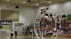 WC 2013 in Wheel Gymnastics  Senior Woman straight line Cheyenne Riccard...