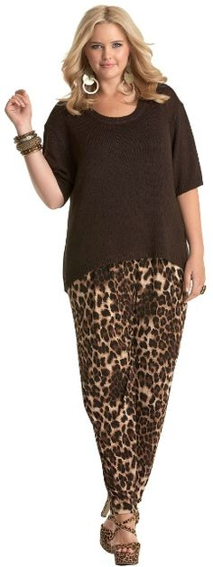 AZTEC KNIT - Tops - My Size, Plus Sized Women's Fashion & Clothing