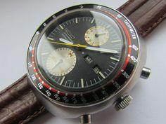 VINTAGE SEIKO UFO 6138-0011 CHRONOGRAPH 21 JEWEL AUTOMATIC DAY DATE GENTS WATCH