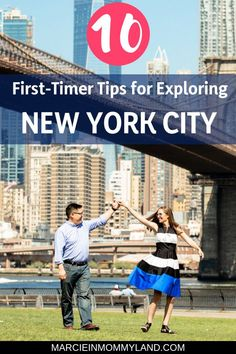 Planning your first trip to New York City? Find out my top 10 first-timer tips for exploring New York City including the hippest museum tours, how to score free tickets to shows, top photo spots in NYC, where to stay, the easiest ways to get around, the best NYC bakeries, incredible and infamous places to eat, and more! Click to read more or pin to save for later. www.marcieinmommyland.com #nyc #newyorkcity #nyceats #nyctips