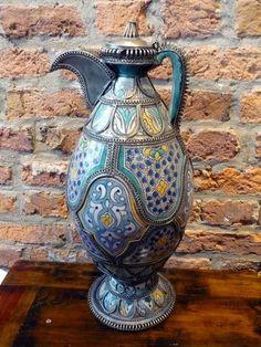 Moroccan big vintage pitcher by VintageTrip on Etsy, $590.00