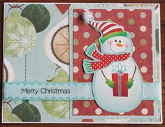 Hand Made, Christmas, Greeting, Cards, Snowman by LibbysCraftStudio on Etsy
