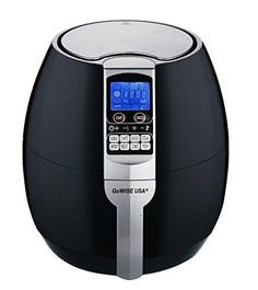 GoWISE USA GW22611 GoWISE USA 8-in-1 Electric Air Fryer with Digital Programmable Cooking Settings 3.7 QT Black Black