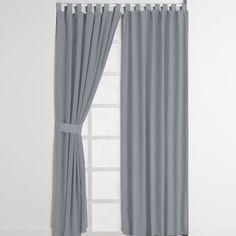 cortina alegro gris recamara sala cortinas hogar intimahogar decoracion