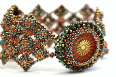 DeCoster's seed bead bracelet.  simply amazing and beautiful.