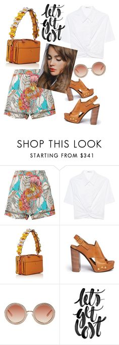 """""""Let's get lost"""" by zabead ❤ liked on Polyvore featuring Trina Turk, T By Alexander Wang, Anya Hindmarch, Chloé and Dolce&Gabbana"""