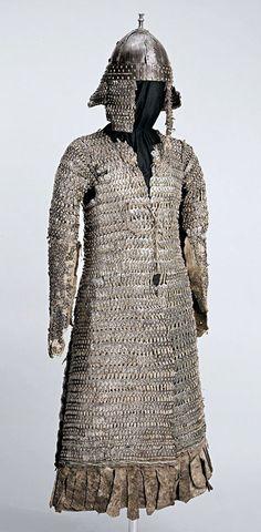 Armadura de láminas - Tíbet - c 1600 - National Museums of Scotland
