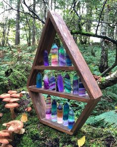 Wow cool crystal display