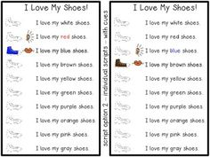 "Reader's Theater - ""I Love My Shoes""!  This is a perfect follow up ELA activity for the Pete the Cat book - I love my White Shoes (or even I Love My School Shoes!) There is a script with visuals and props. Students each get simple lines to say. There are cues to help students know when it is their turn to speak! Great literacy activity!"
