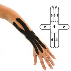 Kindmax Kinesiology Tape Wrist Support