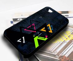 retro triangle for iphone case samsung galaxy case - Cases, Covers & Skins