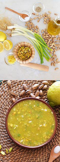 Pistachio dressing - recipe - shewandersshefinds.com ==