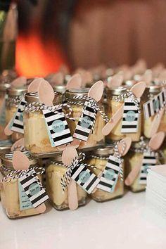 10 ideias de lembrancinhas gourmet, lembrancinha, brigadeiro de potinho, o que dar de lembrancinha para os convidados, ideias originais de lembrancinhas, casamento
