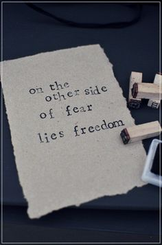Abandon your limits and set yourself free.